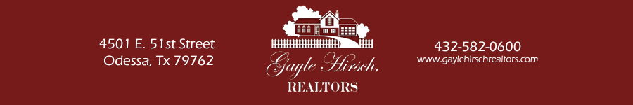 Odessa Homes for Sale. Real Estate in Odessa, Texas – Gayle Hirsch